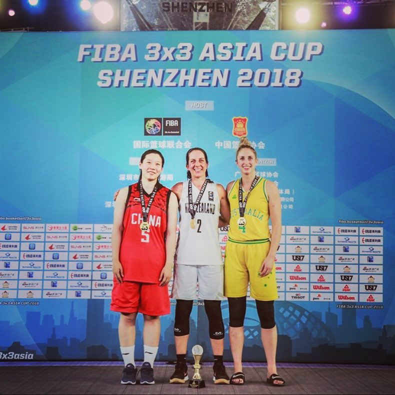 Aus 3x3 Women - 2018 Asian Cup