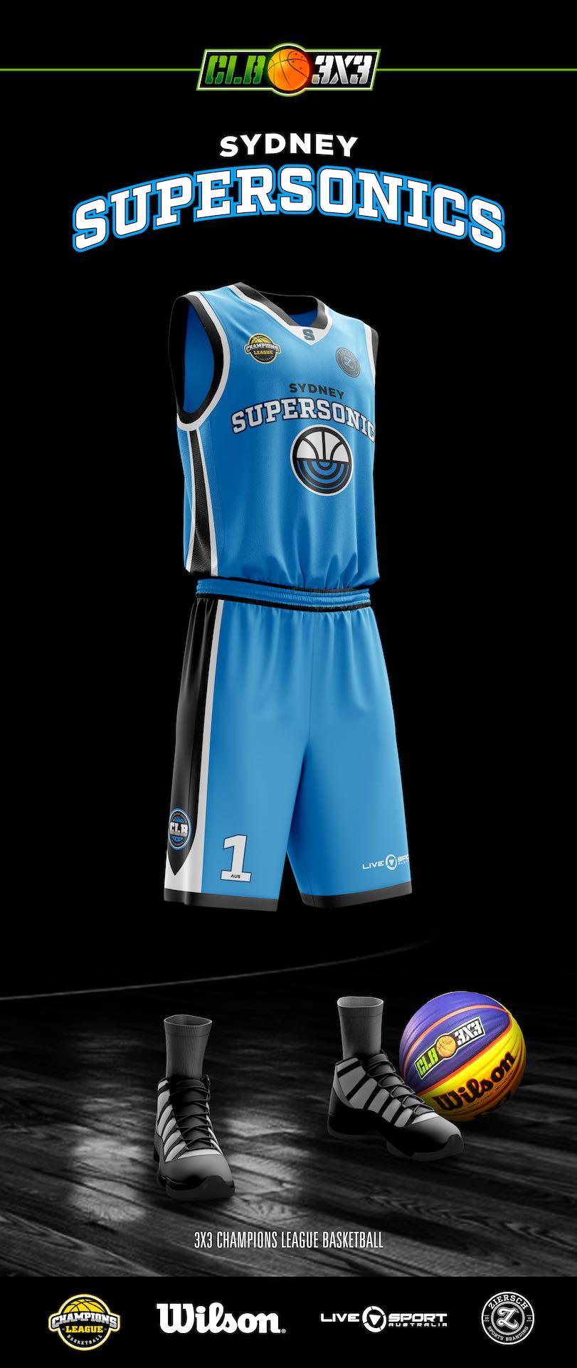 Sydney Supersonics - Uniform