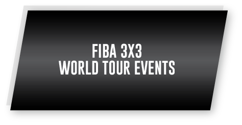 FIBA World Tour Events, #3X3WT, FIBA Endorsed, 3x3 Basketball Competition, Official 3x3 Basketball
