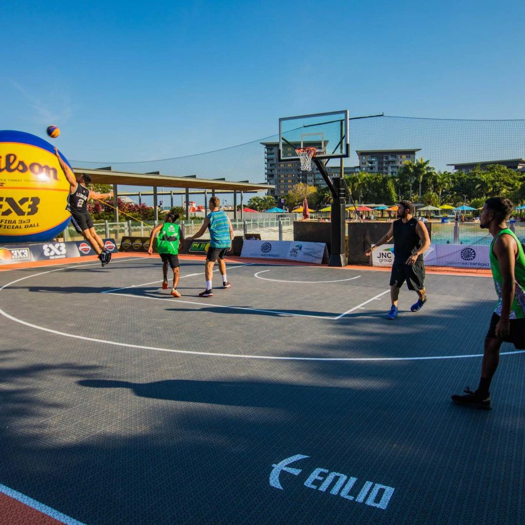 Courts n Hoops - Darwin, National 3x3 Basketball League, Official 3x3 Basketball