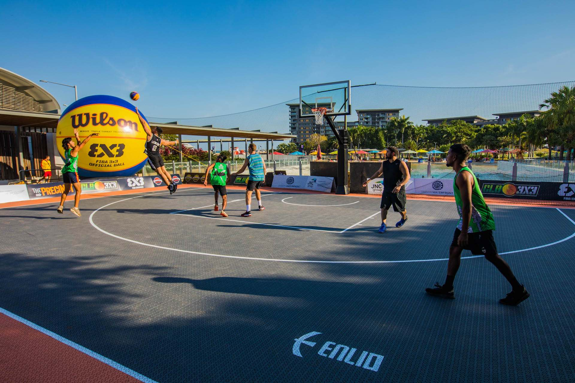 Courts n Hoops Header - Darwin
