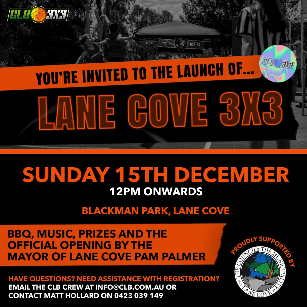 Lane Cove, National 3x3 Basketball League, Grassroots Clubs, Remote Regional Communities