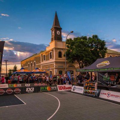 Murray Bridge - 2018 Masters Games, 3x3 Basketball Community, 3x3 basketball tournament